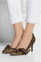 Isabel Marant Pumps Braun 39 Leoparden Stil Leder Leo Fell Schuhe High Heels Top