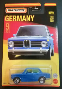 "MATCHBOX 2021 1969 BMW 2002 "" BEST OF GERMANY "" NEU & OVP"