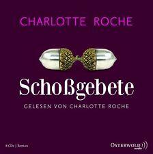 Charlotte Roche - SCHOSSGEBETE - 8 CD´s - 579 Minuten - ungekürzt Neu & in Folie