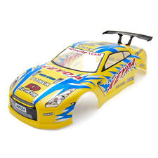 Radio Control Car 1/10 Nissan Skyline GTR Body Shell 190mm Gold S028G