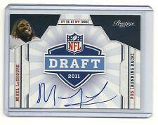 11 Prestige-NFL Draft Autographs-Mikel LeShoure