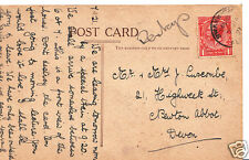 Genealogy Postcard - Family History - Luscombe - Newton Abbot - Devon   BX28