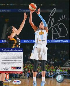 Elena Delle Donne WNBA Chicago Sky Signed AUTOGRAPH 8 x 10 Photo PSA DNA ITP