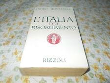 L'ITALIA DEL RISORGIMENTO INDRO MONTANELLI STORIA LETTERATURA ITALIANA RIZZOLI