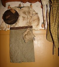 PATTERN~Prairie/FARM BOY OUTFIT/LIL SOD-BUSTER/MYprimitive saltbox/pioneer/pt083