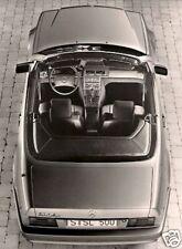 Mercedes-Benz SL 300 500 1989 Original Press Photograph