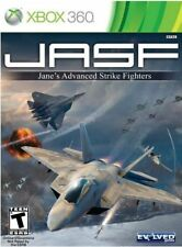 JASF Janes Advanced Strike Fighters XBOX 360 NEW! AIR COMBAT, FLIGHT BATTLE✨Nice