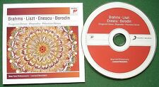 Brahms Liszt Enescu Borodin New York Philharmonic Bernstein Sony Label CD