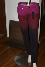 bebe MIDNIGHT OMBRE SKINNY JEANS SIZE 27