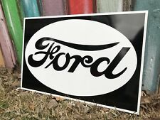 Antique Vintage Old Style FORD Sign
