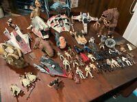 Huge Star Wars 1990s Action Figure Lot - Vehicles - Characters - Vintage