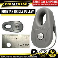 RONSTAN BRIDLE PULLEY GREY REPLACEMENT STANDARD KITEBOARD SAIL BLOCK KITE LINE