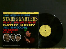 STARS FROM STARS AND GARTERS  Ray Martine, Kathy Kirby Al Saxon  LP  Lovely copy