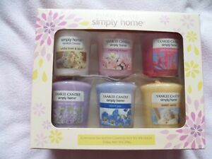 'YANKEE CANDLE' 6 VOTIVE CANDLE GIFT SET