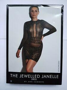 Ann Summers Jewelled Janelle Dress S 8-10 lingerie, Sexy nightwear Dress Up New