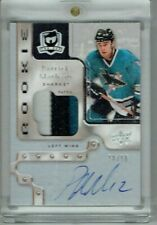 17-18 UD The Cup Sidney Crosby Tribute  Patrick Marleau  10/10  Auto  Patch
