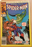 Marvel Tales #189 Spider Man 1986 Marvel Comic Book XF
