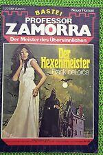Professor Zamorra Nr. 9, Erstdruck, Der Hexenmeister, Zustand: 1-
