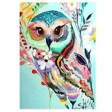 DIY 5D Diamond Embroidery Painting Bird Animal Cross Stitch Kit Craft Home Decor