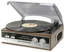 Soundmaster PL186H Direct-Drive Retro Record Player
