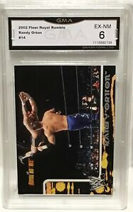 2002 Fleer Royal Rumble RANDY ORTON Rookie Card GMA 6 EX Near Mint The Viper RKO