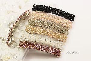 Haarspange Haarklammer Barrette Perlen Haarschmuck A505