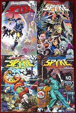 Heavy Hitters Spyke (1993) #1-4 - Comic Books - Epic & Marvel Comics