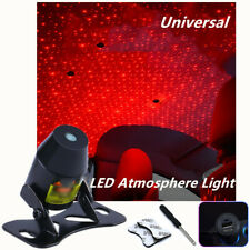 1PC Red Car Twinkle LED Interior Decoration Light Rooftop Ceiling Projector Lamp
