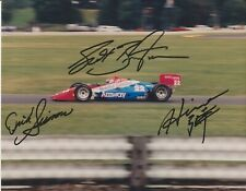 Indianapolis 500 driver SCOTT BRAYTON & DICK SIMON Signed 8X10 Indy Race Photo