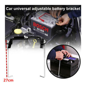 Vehicle Car Automotive Battery Bracket Adjustable Stabilizer Holder Mount Stand