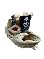 Fisher Price Imaginext Billy Bones Skeleton Pirate Ship Boat & Figure
