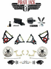 Chevy Tri-Five Wilwood Master & Caliper Disc Brake Kit w/ Tubular Control Arms