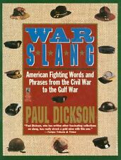 War Slang: American Fighting Words and Phrases