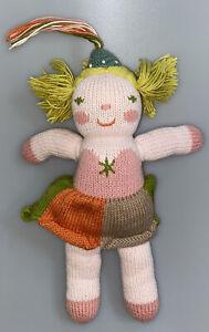 "BlaBla Mini Clochette The Fairy Knit Doll Fairy Stuffed Plush Girl 13"" FLAW"