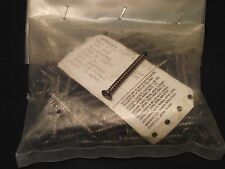 """QTY 100 #10 x 2"""" 18-8 stainless flathead spanner security screws"""