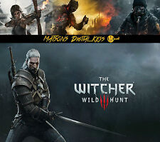 The Witcher 3 III Wild Hunt PC Game - GOG - CD Key - Digital Download - TW3