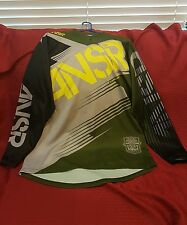 ANSR Motorcross Syncron Jersey Forest Green- LARGE
