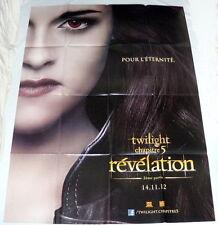 TWiLiGHT BREAKiNG DAWN PART 2 Kristen Stewart Vampires LARGE French POSTER