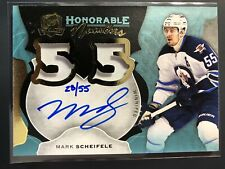 2016-17 The Cup Mark Scheifele Honorable Numbers Jersey Auto /55
