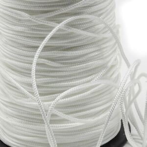 Braided Polyester Cord for Roman Blind Making and general crafting - 100m reel