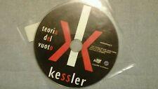 KESSLER - TEORIA DEL VUOTO.. PROMO CD SINGOLO 1 TRACK