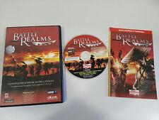BATTLE REALMS NUEVA CREACION DE ED DEL CASTILLO JUEGO PC ESPAÑOL CD-ROM GUIA