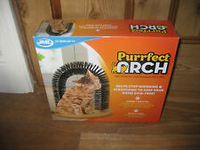 PURRFECT ARCH CAT STOP SHREDDING & SCRATCHING KEEP HOME HAIR FREE HEALHTLY