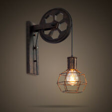 Antique Retro European Black Industrial Swing Arm Ceiling E27 Wall Lamp Lighting For Bar Coffee Shop Restaurant Living Room Easy To Lubricate Lights & Lighting Ceiling Lights & Fans