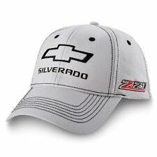Grey & Black Chevrolet Silverado Z71 Adjustable Hat Ball Cap New Free Shipping