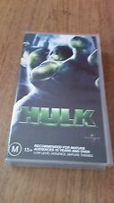HULK - ERIC BANA -  VHS VIDEO