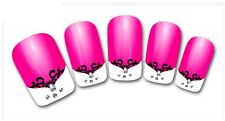 3D Nail Art Sticker Decals Transfer Stickers French Tip Design (3D803)