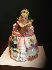 Fitz and Floyd Disney's Cinderella's Fairy Godmother Cookie Jar Exc. Condition