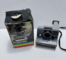 Vintage POLAROID Camera THE BUTTON In Original Box