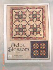 Melon Blossom Applique Quilt Pattern - Random Threadz - Pattern Only